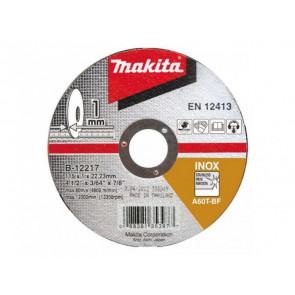 Makita B-64587 řezný kotouč 115x1,2x22 nerez
