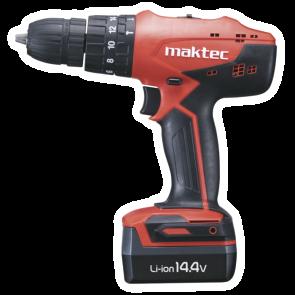 MAKTEC MT080E aku príklepový skrutkovač 14,4 V / 1,1 Ah Li-Ion
