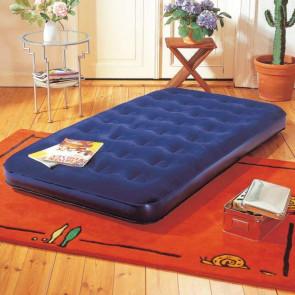 Nafukovací postel Komfort modrá dvojlůžko