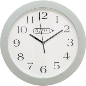 """Kulaté bílé nástěnné hodiny 244mm (10"""")"""