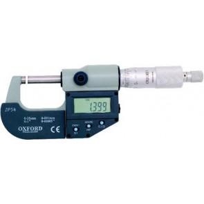 Mikrometer strmeňový digitálne OXFORD 0-25 mm