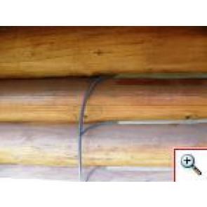 Těsnící šňůra kulatá 15mm-Těsnící šnůra nám zaručuje dostatečnou dilataci spár a správnou funkci tmelu.
