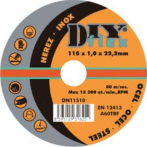DY 15016 kotouč řezný na ocel, nerez (10)