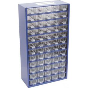 Skříňka zásobní na malé součástky 60 zásuvek SCS060
