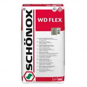 SCHÖNOX WD FLEX 5Kg tmavě šedá - Snadno použitelná vodoodpudivá flexibilní spárovací hmota