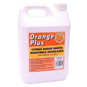 Odmašťovač oplachovatelný vodou Orange Plus 5 litrů