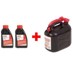 Startovací sada 2ks olej + kanystr 5L