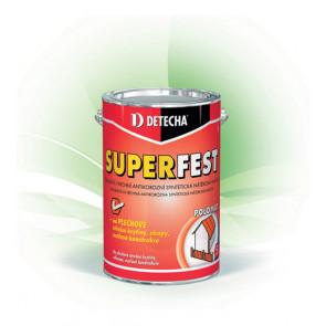 DETECHA SUPERFEST červenohnědý 20kgzákladní i vrchní antikorozní syntetická nátěrová hmota