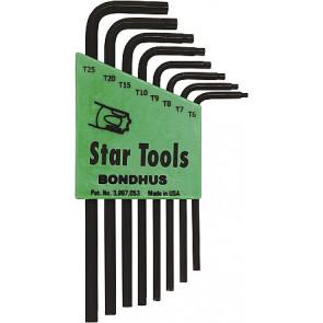 Sada Torx klíčů T9-T40 krátké hex BONDHUS
