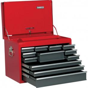 Profesionálne box na náradie prenosný s 12 zásuvkami 668 x 445 x 491 mm