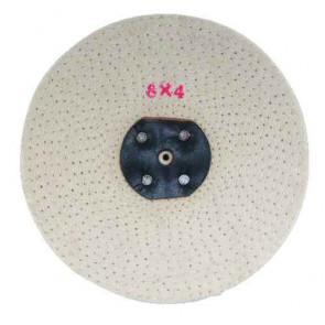 Leštiaci kotúč 200 x 25 mm - neupravený Sisal