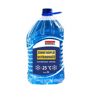 Sonax Zimní kapalina do ostřikovačů -25°C 3 l
