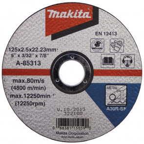 Makita řezný kotouč na ocel 1,6mm